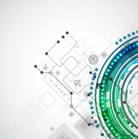 Tecnologia astratto business colore sfondo del computer
