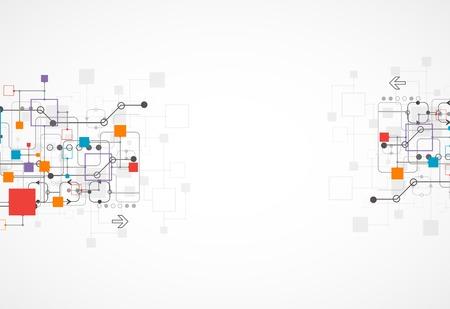 technik: Abstract background, Technologie Thema für Ihr Unternehmen. Vektor