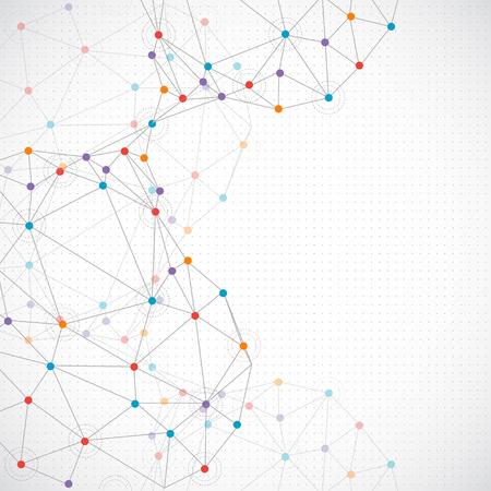tecnologia: La tecnologia sfondo astratto Vettoriali