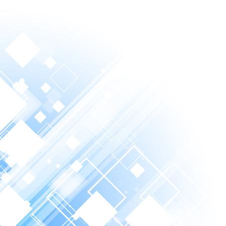 modern wallpaper: Blue technology business template background. Vector