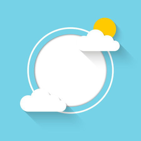 Cloud theme vector background. Vector Eps 10 Vector