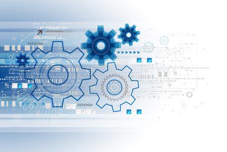 Résumé technologie modèle d'affaires arrière-plan. Vecteur Banque d'images - 39420173