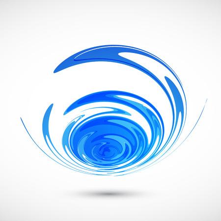 doğa arka: Abstract nature wave background. Vector