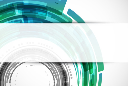 modern background: Abstract modern technology background. Vector