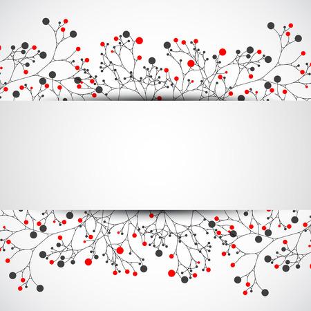 background color: Ecology vector Illustration