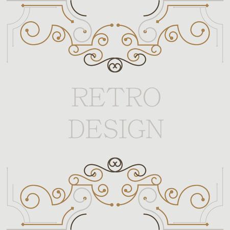 marcos decorativos: marcos decorativos vintage. Diseño retro