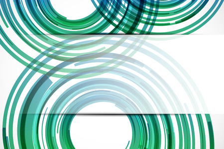 technology background: Abstract green technology background. Vector