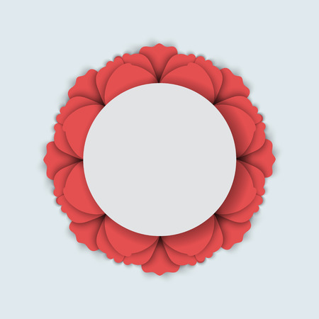 doğa arka: Özet doğa arka plan. Kırmızı haşhaş çiçekleri. Vektör