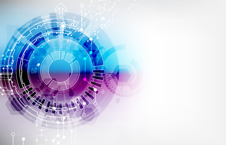tecnologia comunicacion: Resumen de color de la tecnolog�a de la comunicaci�n digital de fondo
