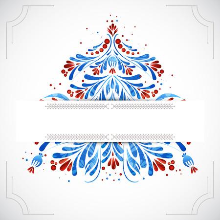 christmas greeting card: Greeting christmas card. Vector illustration