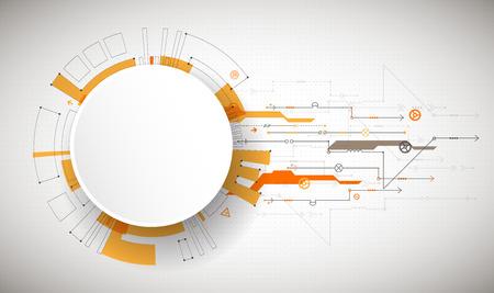 다양 한 기술 요소와 추상적 인 기술적 배경입니다. 구조 패턴 기술 배경입니다. 벡터