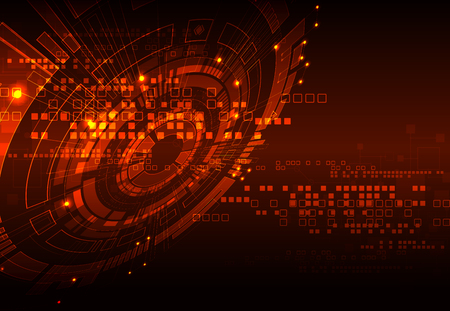 Abstract digital technology background. Vector illustration