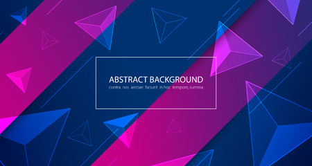 Abstract colorful background. Vector illustration