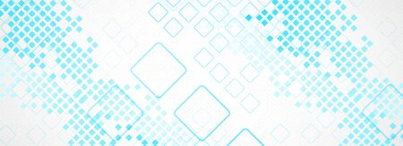 Abstract background with squares. Structure pattern technology backdrop. Vector
