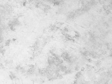 Rough white stone wall background in vintage style for graphic design or wallpaper. Pattern of soft nature floor in retro concept. Gray abstract texture detail in construction or exterior decoration.
