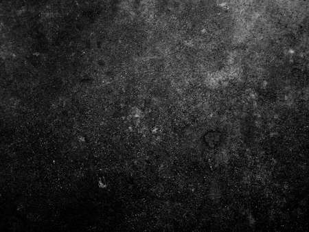 Dark cement wall background in vintage style for graphic design or wallpaper. The pattern of the concrete floor is aged in a retro concept. Standard-Bild