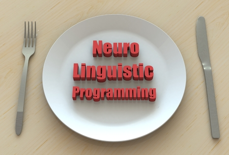 neuro: Neuro Linguistic Programming, message on dish