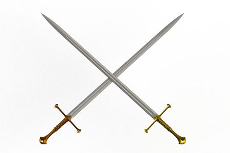 Crossed Swords Stock Photos And Images - 123RF