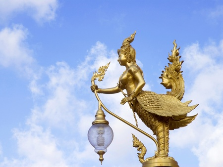 Decorative lamps at thai temple  Stock Photo - 13205313
