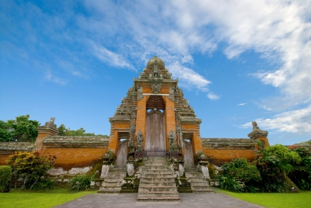 Entrance a Temple in Bali, Indonesia.