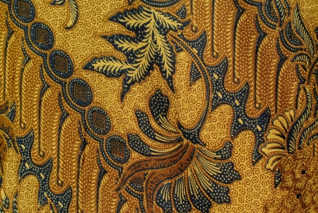 Batik design . Stock Photo