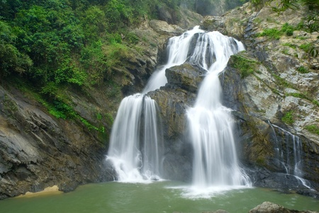 Krungching waterfall,South of Thailand.