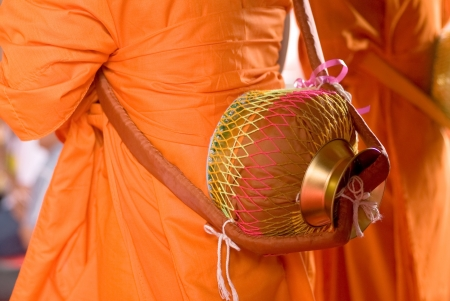ordinate: Ceremony of buddhist ordination,Thailand Stock Photo