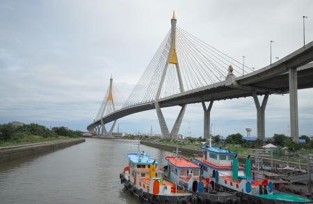 Bhumiphol Bridge, Bangkok, Thailand