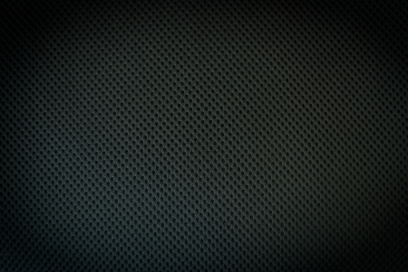 black fabric texture background Stock Photo