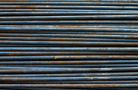 background texture of steel rods photo