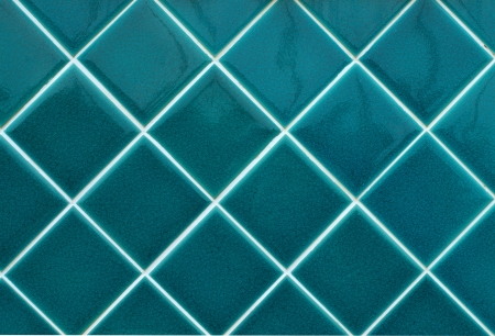 blue wall tiles as background image photo