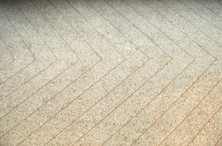 grunge terrazzo floor with copper line Stock Photo