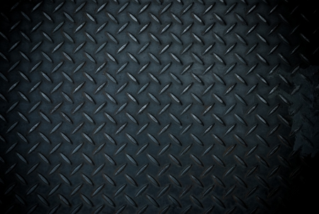 black diamond steel plate Stock Photo - 19534834
