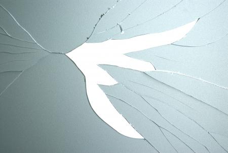 glass broken