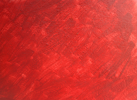 red oil painted on wall for background