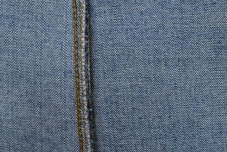 denim fabric: denim fabric inside seam Stock Photo