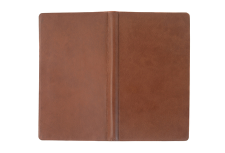 notebook cover: brown open notebook cover