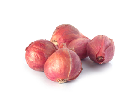 red onion on white background Stock Photo