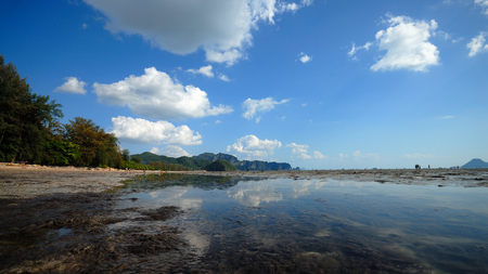 krabi: seascape at krabi, Thailand