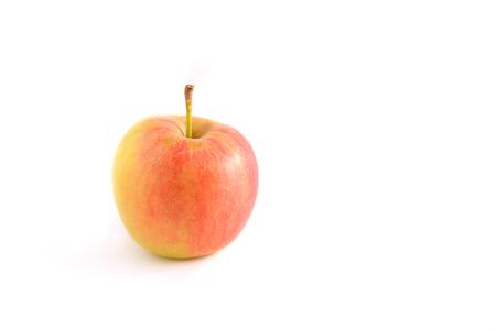 Fresh apple isolated on white background. Stock Photo