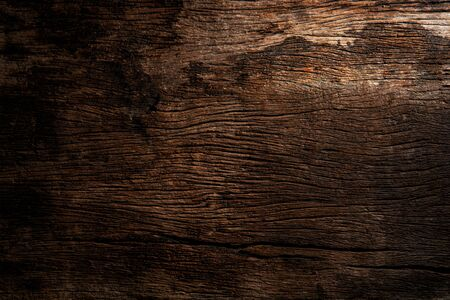 Wood plank texture closeup for background. Gradient light.