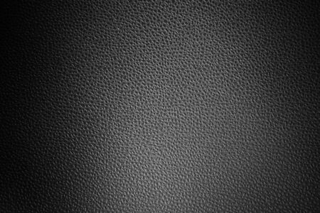 Leather texture closeup for background. Black and white. Banque d'images