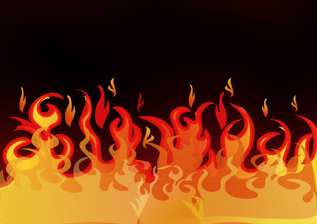 graphic: fire graphic elements vector