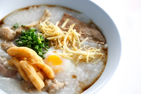 chinese style: Rice porridge chinese stye Stock Photo