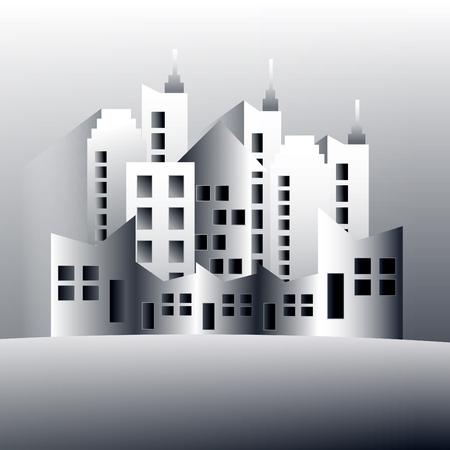 corporate building: vector building designs Illustration