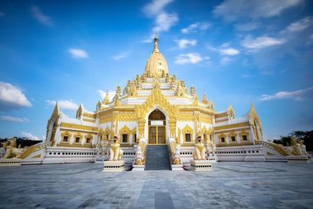 relic: Swe taw myat buddha tooth relic pagoda, Yangon Myanmar (Burma)