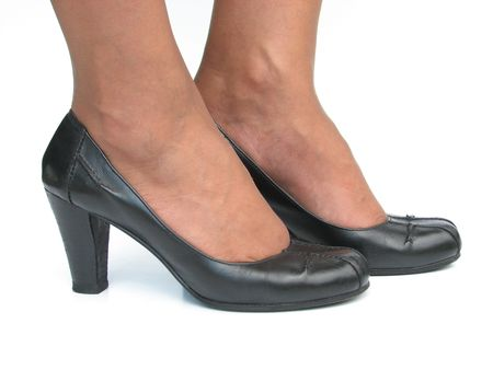 Classic secretary shoes Stock Photo - 2159243