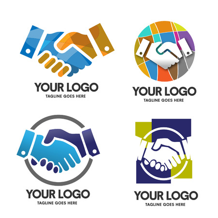 Poignée de main logo
