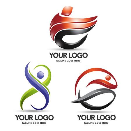 sport 3d logo