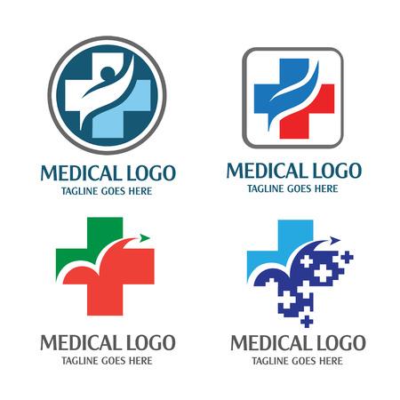 Medical logo Vectores